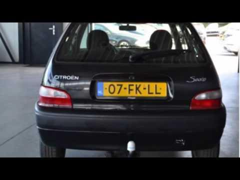Citroën Saxo 1.0I BEN 5-deurs Zeer zuinig Inruil mogelijk