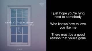 [2017 BTS festa] We don't talk anymore pt.2 - cover by JK&JM