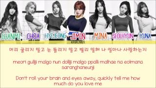 AOA - Luv Me [Eng/Rom/Han] Picture + Color Coded HD
