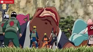 Minato and Naruto Vs. Gamabunta Full Fight
