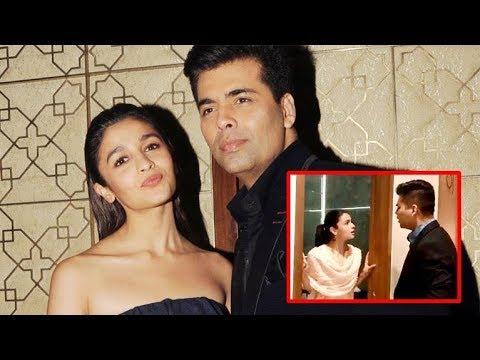 This Is Why Karan Johar Shouted At Alia Bhatt!