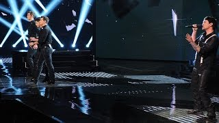 "Restless Road and Jeff Gutt ""Every Breath You Take"" - Live Week 7: Semifinal - The X Factor USA"