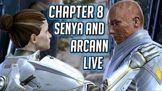SWTOR KOTET ► Senya & Redeemed Arcann Protect the Gravestone - Chapter 8