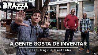 A gente gosta de inventar (Clipe Oficial) - Fabio Brazza part Caju e Castanha (prod. Leo Casa1)