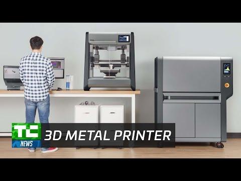 Printing metal at the office with Desktop Metal
