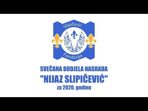 Svečana dodjela nagrada 'Nijaz Slipičević' za 2020. godinu