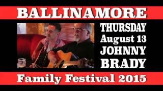 The Lawrence John Show - Ballinamore Festival 2015 - ADVERT