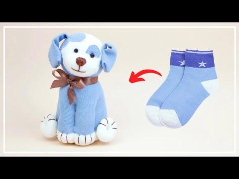 Собачка из Носков своими руками 🐶🧦 DIY: a Puppy Dog with Socks