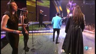Leona Lewis - Happy live on the voice of Spain 2012 HD.mkv