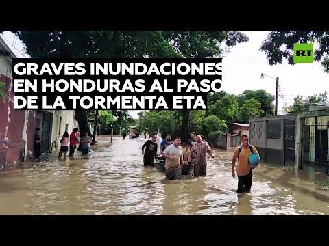 Al menos 2 muertos y devastación en Honduras por el paso de la tormenta tropical Eta