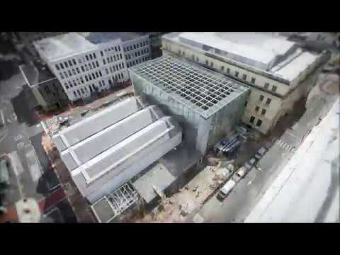 City Rail Link time lapse: Britomart