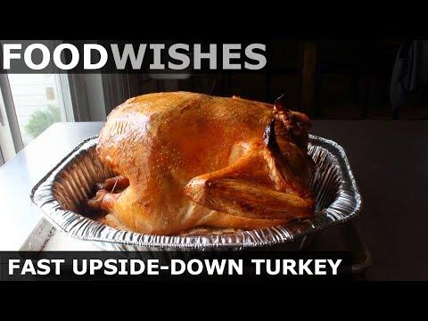 Fast Upside-Down Turkey ? Food Wishes