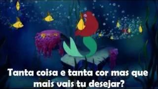 The Little Mermaid - Under the Sea (EU Portuguese) *Lyrics* HD