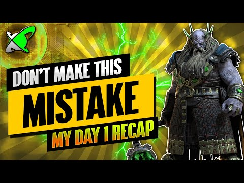 DON'T MAKE THIS MISTAKE | Underpriest Brogni Day 1 Recap | BGE's Guides | RAID: Shadow Legends
