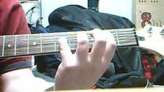 Hollow - Pantera Guitar Lesson PLEASE COMMENT