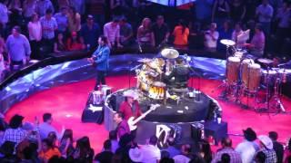 Los Tigres del Norte Eduardo Hdz cantando Cariño Donde Andaras en Dome Care