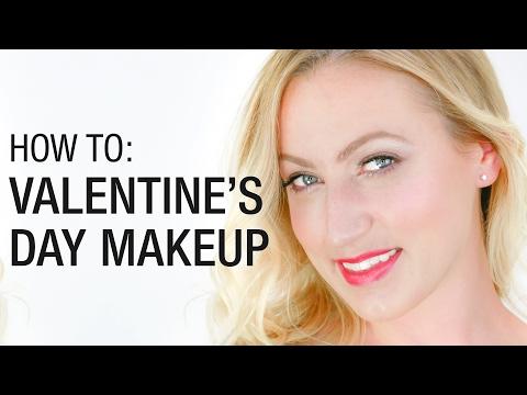 Simple Valentine's Day Makeup Tutorial