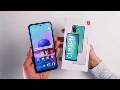 Xiaomi Redmi Note 10 (Unboxing od XM.cz)