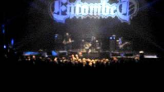 Entombed - Outro Left Hand Path theme of the 1979 horror film Phantasm : 17-11-2010 Århus Denmark