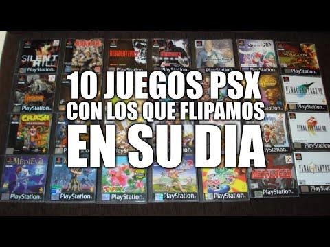 10 Juegos de Playstation con los que flipamos en su día - TOP 10 PSX - Luciano OnFire
