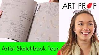 Artist Sketchbook: Annelise Yee / ART PROF