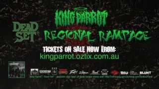 KING PARROT - 2015 Regional Rampage Australian Tour Promo