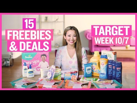 ★ 15 FREEBIES & Deals Target Couponing (Week 10/7 – 10/13)