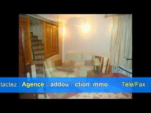 Appartement Meublé sur le haut Agdal en Location    Agance Baddou Action