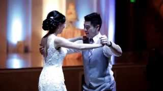 "Cute Couple Does First Dance To Ed Sheeran's ""Thinking Out Loud"" and it's BEAUTIFUL!"