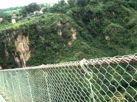 Tallest  bridge of Nepal in Kushma