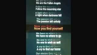 Fallen angels- Black Veil Brides lyrics