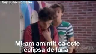 Matteo o imbratiseaza pe Luna