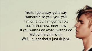 Deja Vu- POST MALONE FT. JUSTIN BIEBER LYRICS