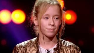 Siska   'Hé Pa' | Blind Auditions | The Voice Kids | VTM