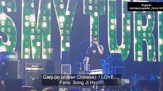 Fans tease Kang Gary with Song Ji Hyo