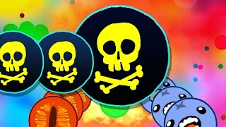 Agar.io // Crazy Game Play - Dont try i'ts an a Home !