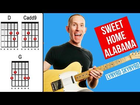 Comment jouer Sweet Home Alabama de Lynyrd Skynyrd à la guitare