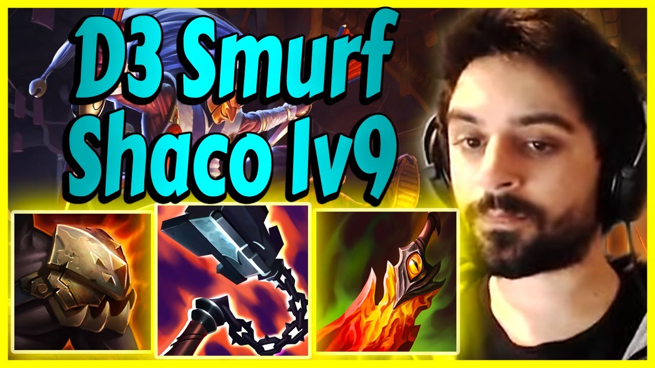 Shaclone - Literal Shaco Domination on Diamond 3 Smurf