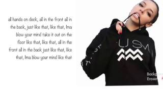 Tinashe   All Hands On Deck Lyrics