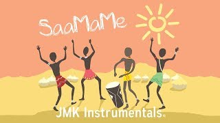 """SaaMaMe"" Maleek Berry African Pop Type Beat Happy Summer Instrumental"