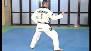 Forma de Taekwondo 5. Taeguk O Jang