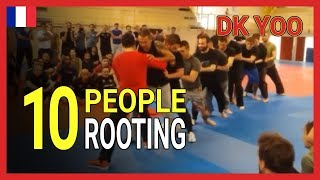 Rooting with 10 people - DK Yoo