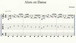 Keyboard/Piano   Alors on Danse   Intro Only