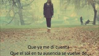 Enséñame A Vivir Sin Ti - Luciano Pereyra (+ Lyrics)