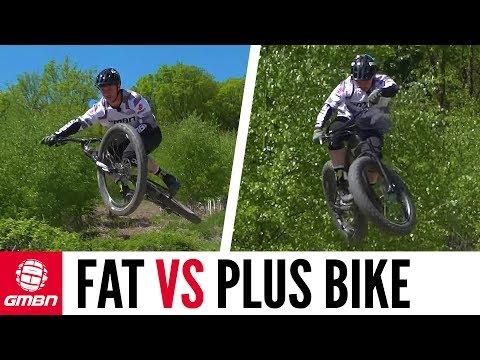 "Fat Bike Vs Plus Bike | How Do They Compare"""