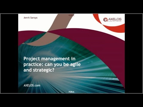 Project management in practice: can you be agile and strategic?