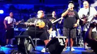 Baba B. live on Guam! July 04, 2013 *Singing All My Life part 1