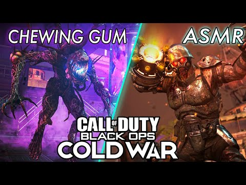 ASMR GAMING LIVE   Call Of Duty: BlackOps Cold War   New Zombies FIREBASE Z DLC 1