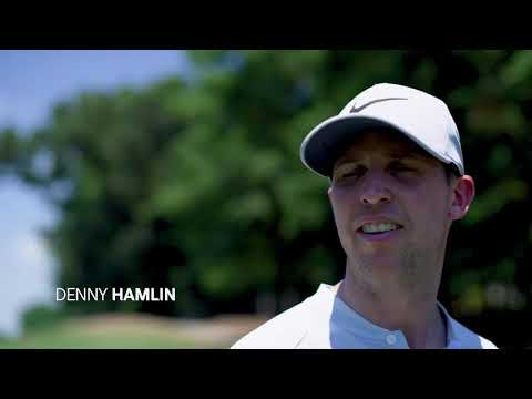 #golfconnects with Denny Hamlin