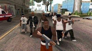 GTA san andreas: how to get a gang - (GTA san andreas gang)
